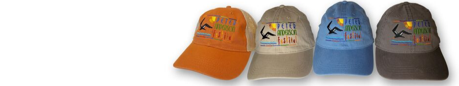 Official Caps of the Peter Anderson Festival