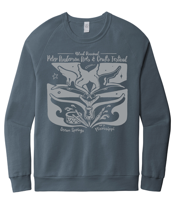 100% Cotton Terry Sweatshirt